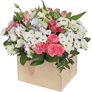 Купить цветы в магазине бишкек букет из конфет подарок на 8 марта из рафаэлло